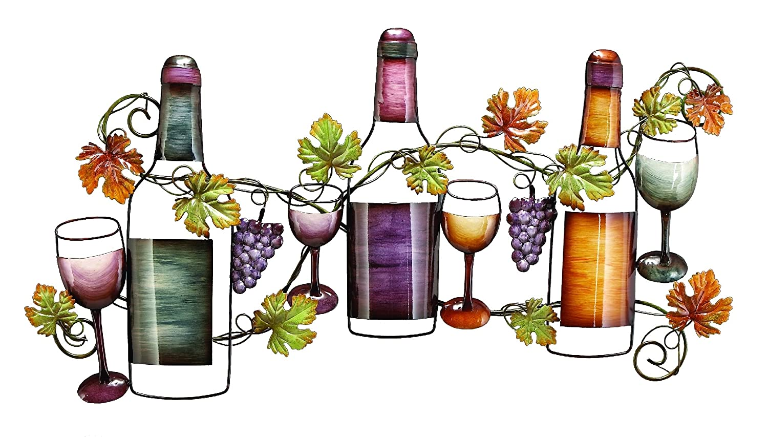 Wine Bottles Wall Metal Art: Beautiful To Present