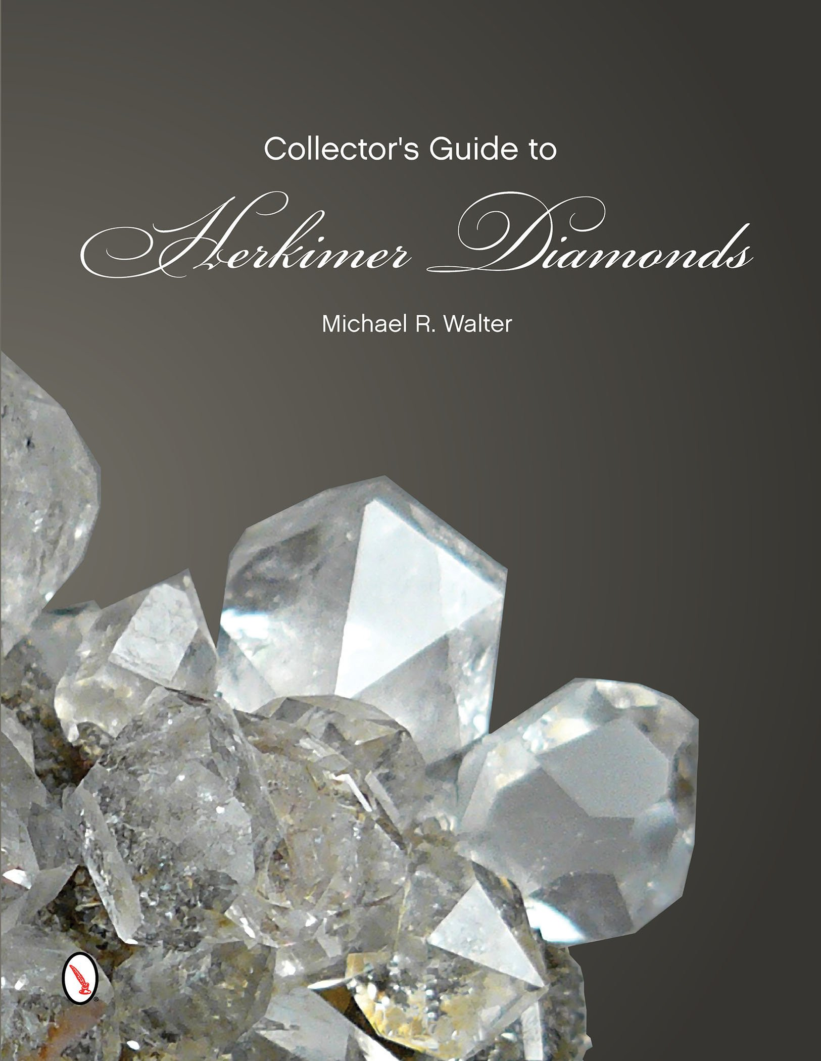 Mineralogical related books, magazines, periodicals, writtings This book is on Herkimer Diamonds, by Michael Walter..