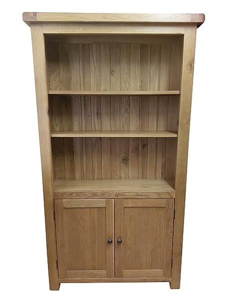 Kingsford Chunky Oak Large Bookcase