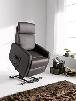 Sillon relax sistema puesta en pie powerlift , color marron