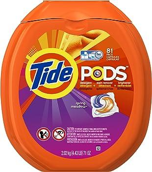 81-Count Tide PODS Laundry Detergent Pacs