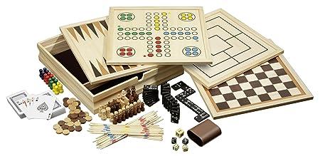 Philos - 3098 - Set De Jeux De Société - 10 Moyen
