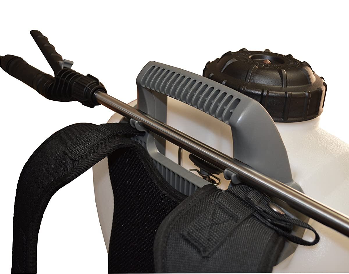 Smith Performance Sprayers NL400 4-Gallon No Leak Backpack Sprayer for Landscapers Applying Weed Killers and Fertilizers