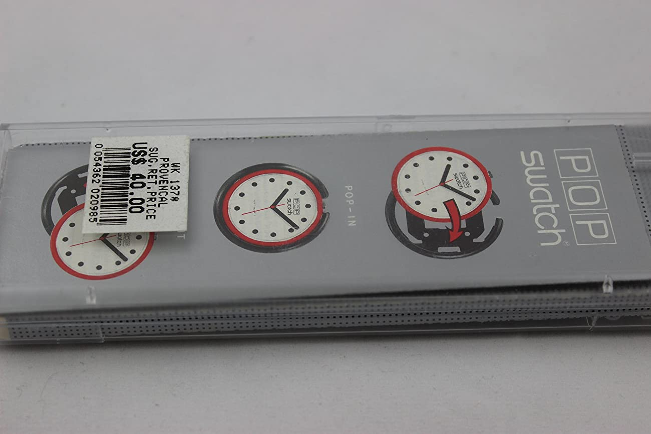 1991 Rare Vintage Swatch Watch Pop Provencal PWK137 4