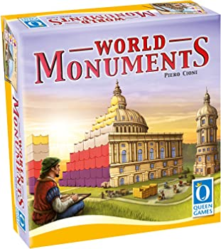 Queen Games World Monuments Family Board Game