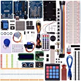 Kuman RFID Master Starter Kit for Arduino, Update UNO R3 projects with Tutorials, RC522 RFID Sensor Module LCD Servo DC Motor K25 (Updated Arduino RFID Kit)