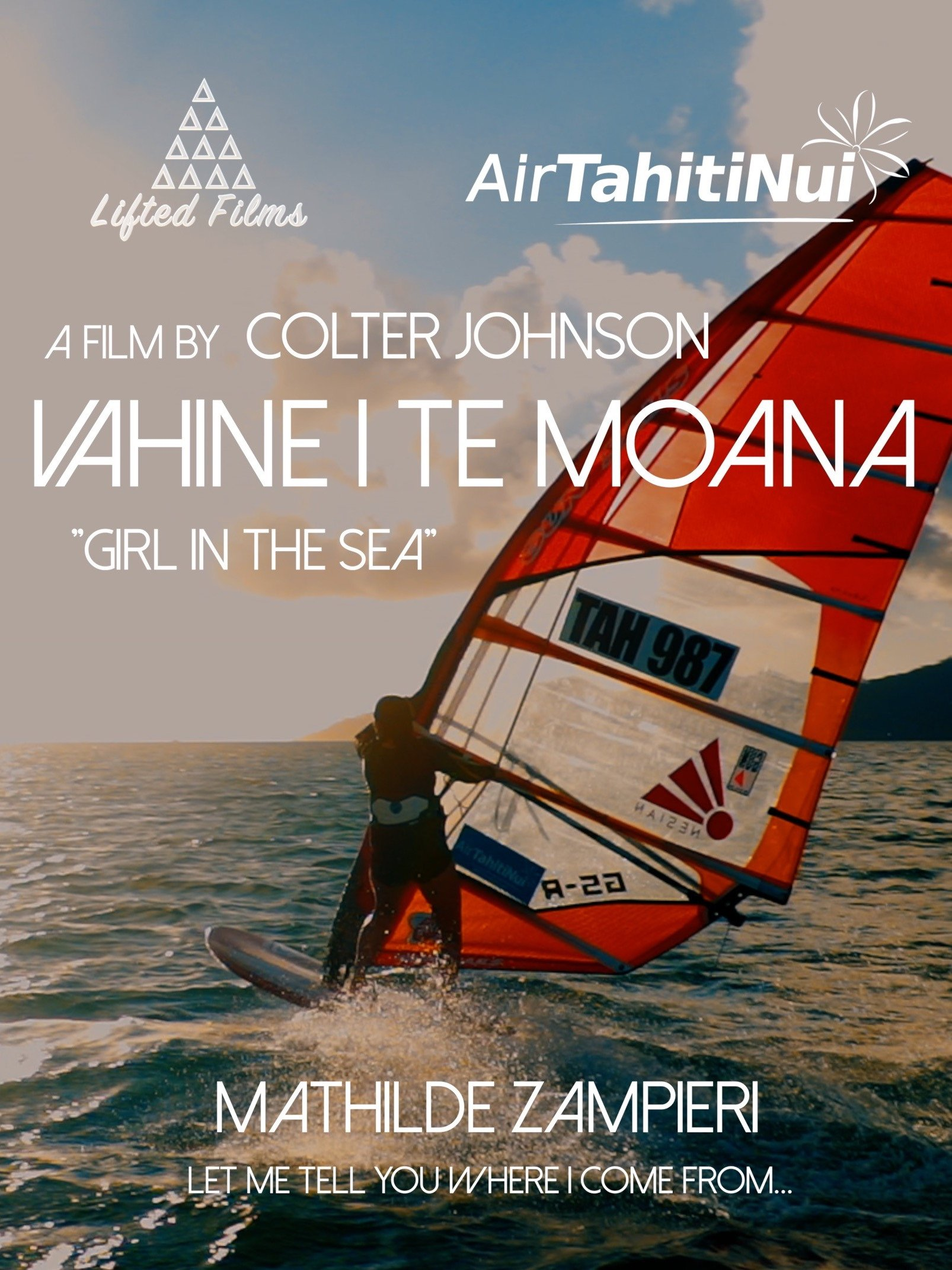 "Vahine I Te Moana ""Girl In The Sea"""