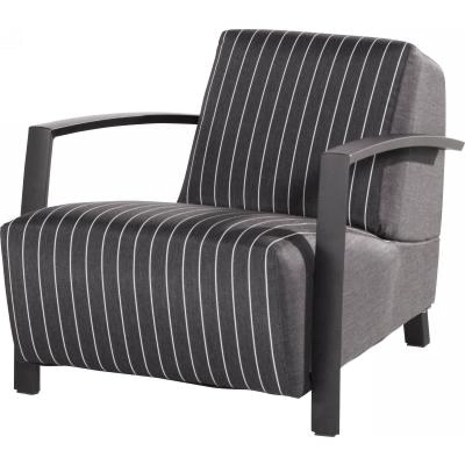 4Seasons Outdoor Hugo Sessel living schwarz gestreift