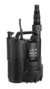 T.I.P. 30166 Integra 8000 Drainage Tauchpumpe flachabsaugend bis 2 mm  BaumarktKundenbewertung und Beschreibung