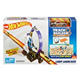 Hot Wheels Track Builder Loop Launcher Playset