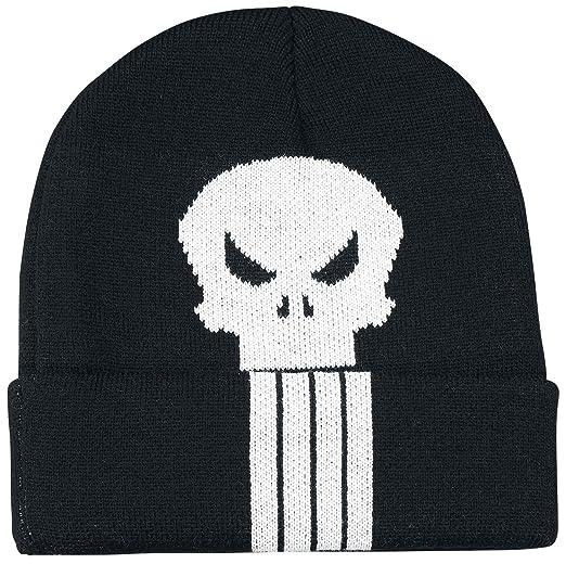 The PunisherSkull Logo Bonnet noir