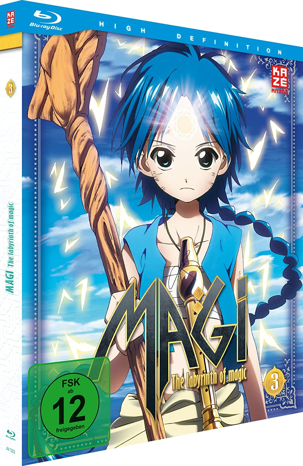 Magi - The Labyrinth of Magic, Blu-ray