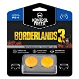 KontrolFreek Borderlands 3 Claptrap Performance Thumbsticks for PlayStation 4 (PS4) | 2 Mid-Rise Convex Thumbsticks | Yellow (Color: Yellow)