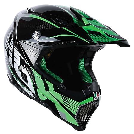 AGV Helmets 7531A2F0_003_XL AX-8 Carbon E2205 Multi, Vert, Taille XL