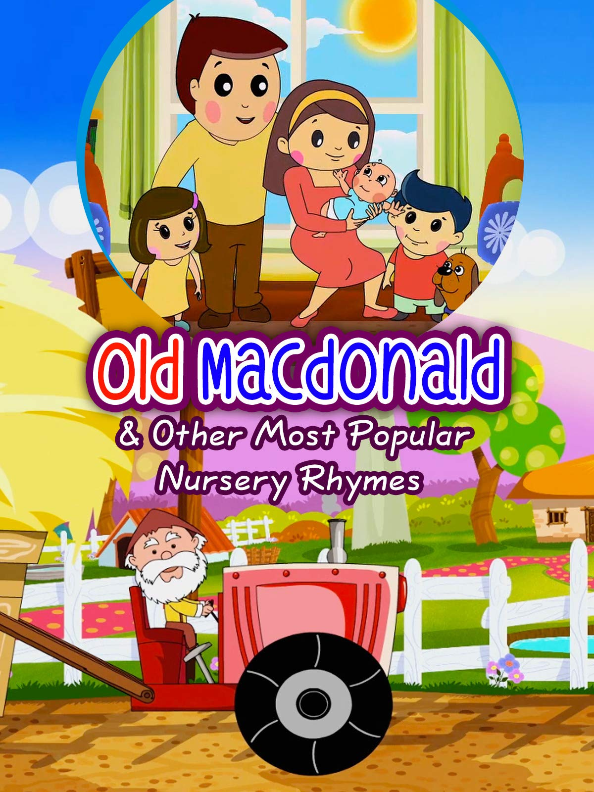 Old Macdonald & Other Most Popular Nursery Rhymes (HD) | Shemaroo Kids