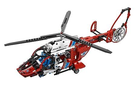LEGO Technic - 8068 - Jeu de Construction - L' Hélicoptère de Secours