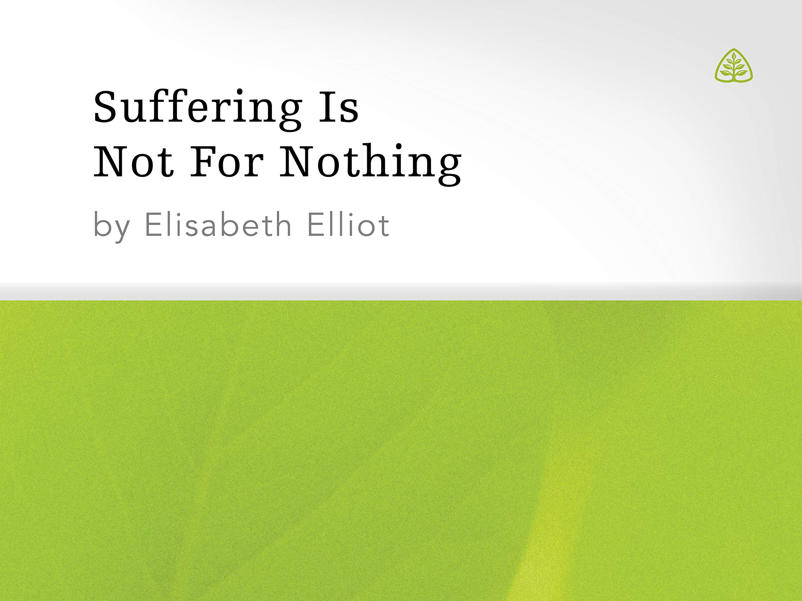 Suffering is Not For Nothing - Season 1