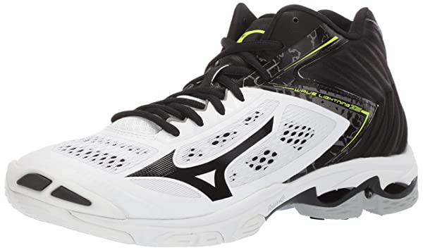 mizuno men's wave lightning z5 indoor court shoe pink color