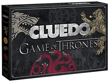 Cluedo Game of Thrones Collector's Edition [Import allemand]
