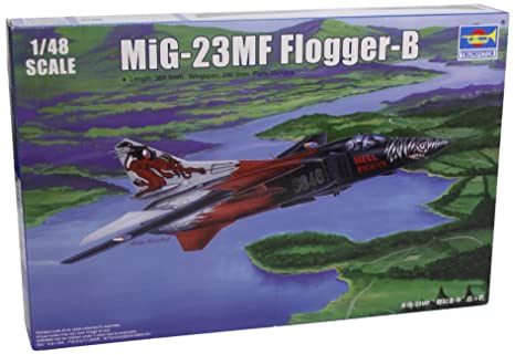 TRP02854 1:48 Trumpeter MiG-23MF Flogger B MODEL KIT (japan import)