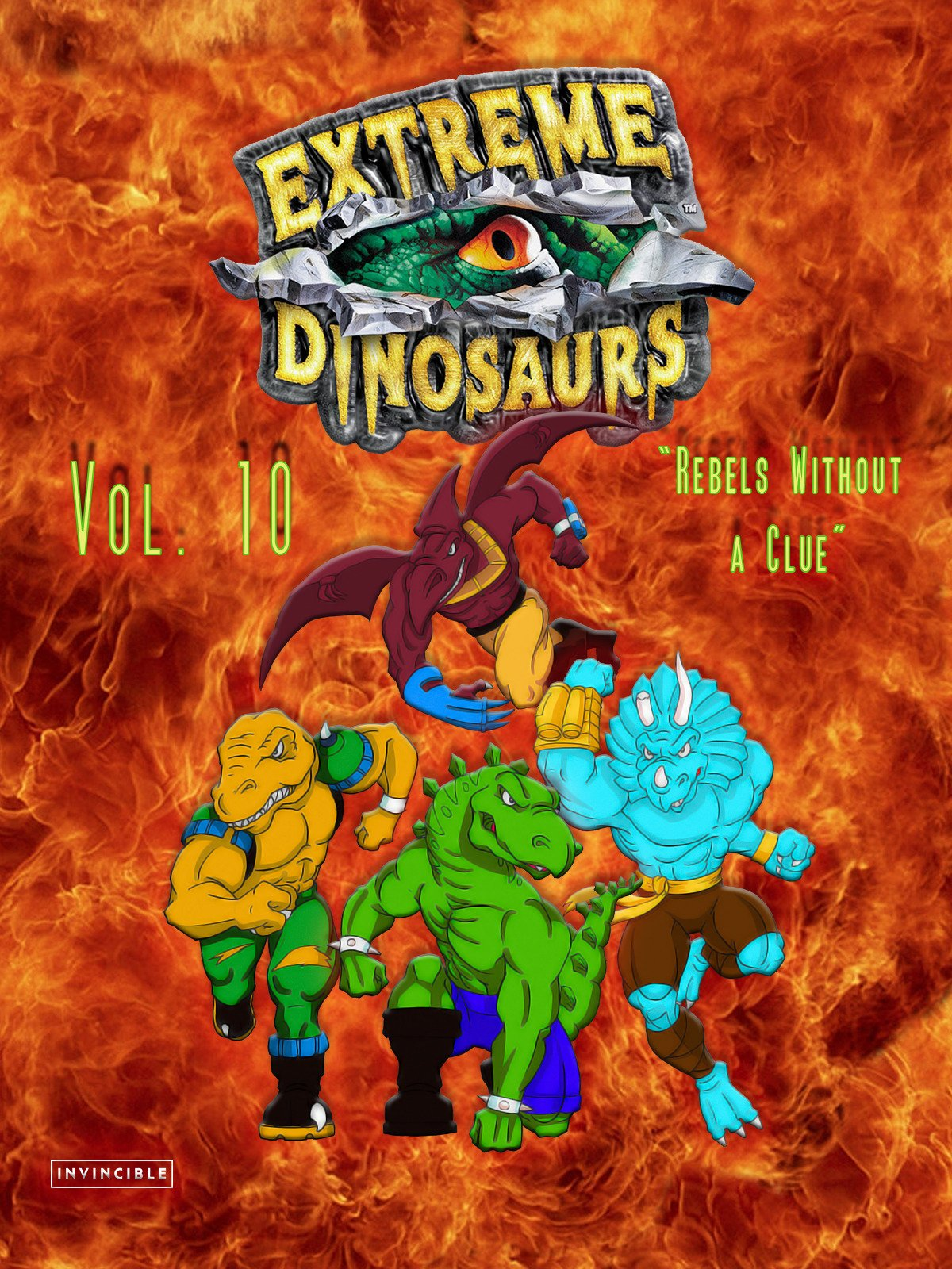 Extreme Dinosaurs Vol. 10Rebels Without a Clue