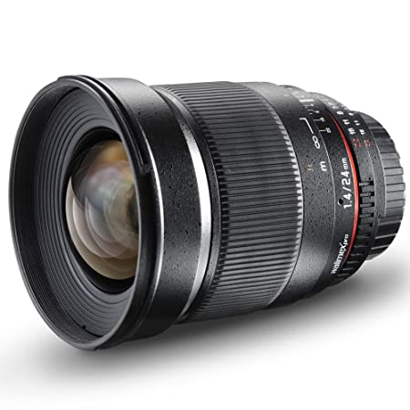 Objectif walimex pro 24/1,4 IF pour Canon EF