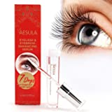 [Upgraded] Aesula Eyelash Growth Serum, Enhancer Great For Eyelash Growing, Thickening and Strengthening of Eyelashes, Best Eyelash Growth Serum for 2018 (Tamaño: 5ML)