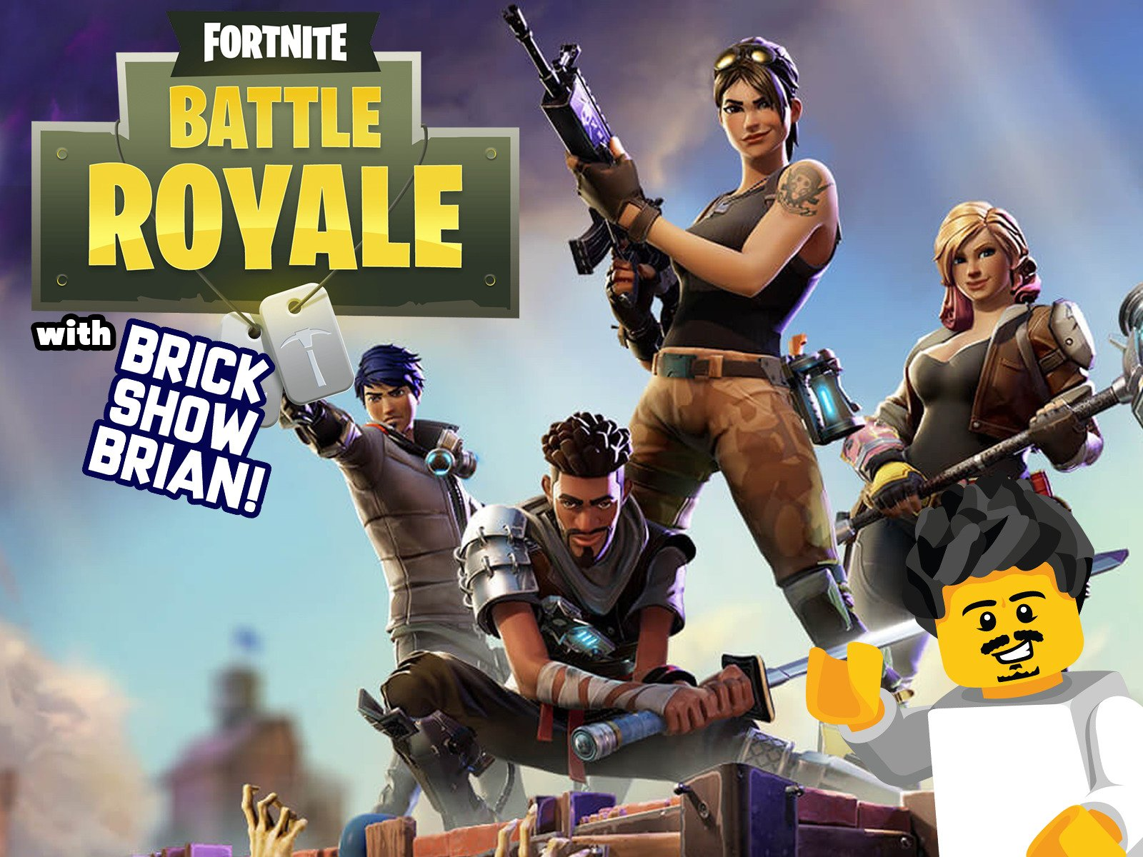 Clip: Fornite Battle Royale with Brick Show Brian - Season 1