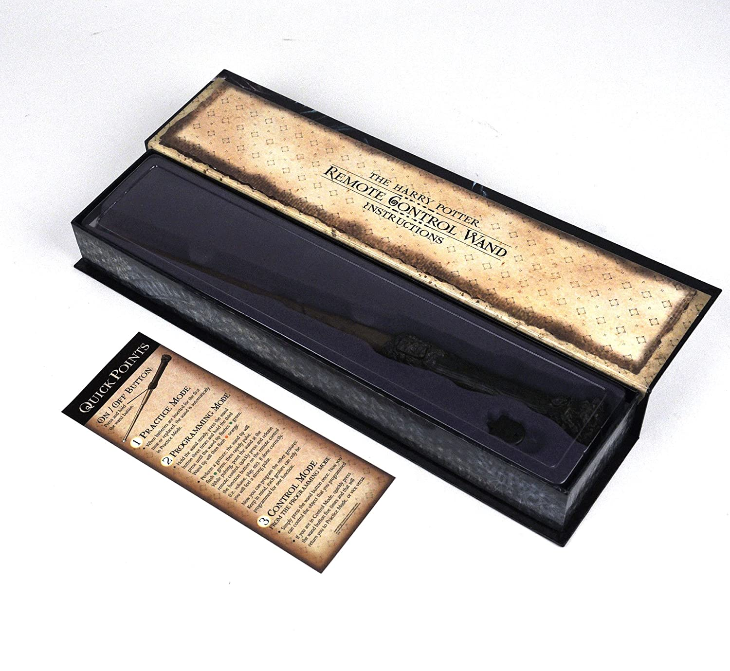 The HARRY POTTER Remote Control Wand - Get some magic in your living room. gadget-geek.de digerati lifestyle