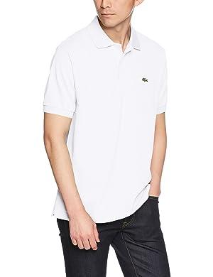 LACOSTE ラコステL.12.12ポロシャツ(無地・半袖)