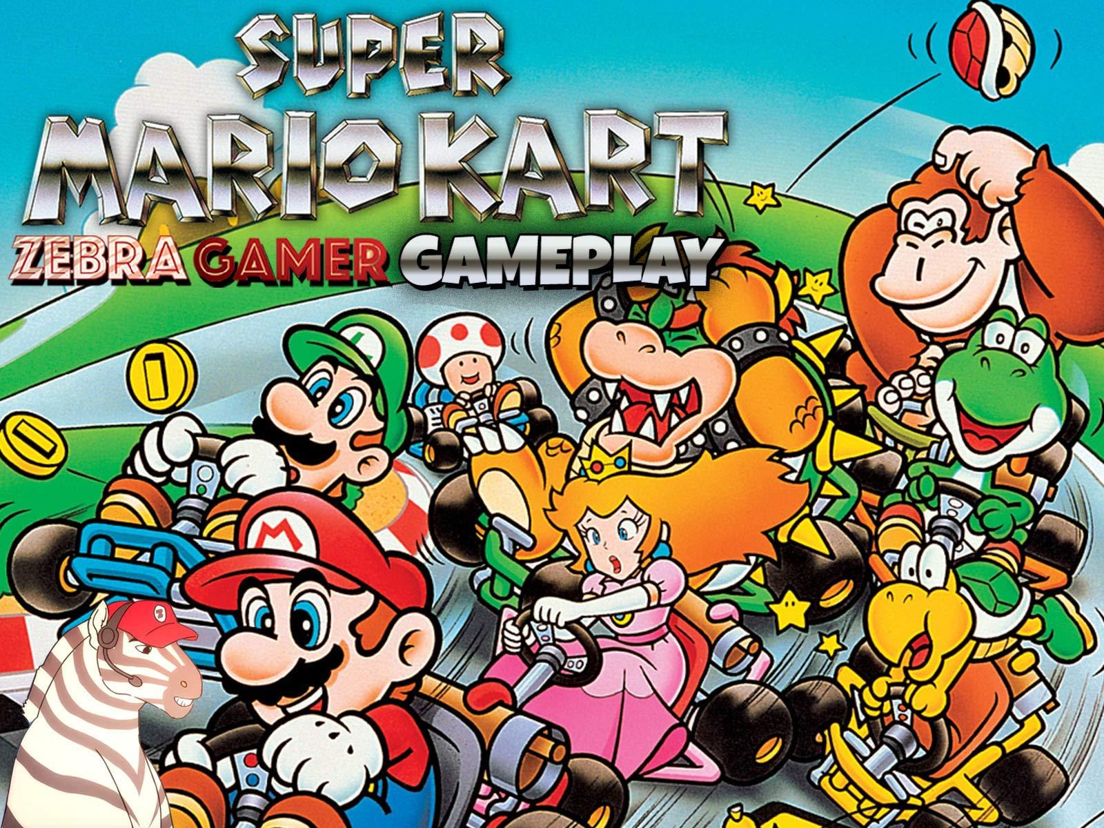 Clip: Super Mario Kart Gameplay - Zebra Gamer - Season 1