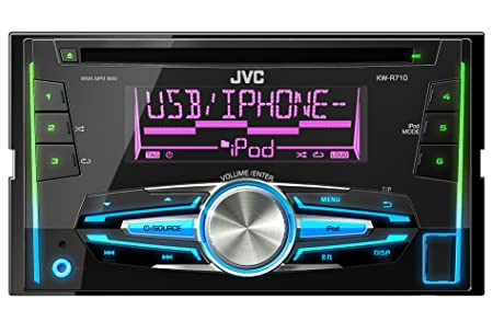 JVC KW-R710E Autoradios Bluetooth, En Façade