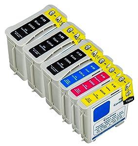 6 Multipack de alta capacidad HP 88 XL , HP 88 XL , HP 88XL , HP88 XL Cartuchos Compatibles 3 negro, 1 ciano, 1 magenta, 1 amarillo para HP OfficeJet Pro K-5400, K-5400-dn, K-5400-dtn, K-550, K-550-dtn, K-8600, K-8600-dn, L-7480, L-7500, L-7550, L-7555, L-7580, L-7590, L-7600, L-7650, L-7680, L-7700, L-7750, L-7780. Cartucho de tinta . C9391AE , C9392AE , C9393AE , C9396AE © 123 Cartucho  Oficina y papelería Comentarios de clientes y más información