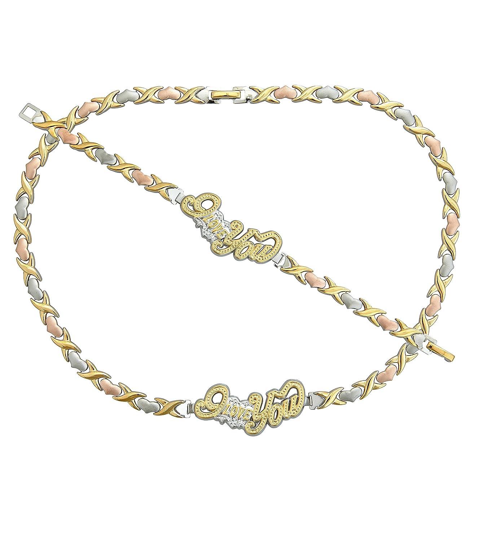 Gold Tone Jewelry Sets Jewelry Set Tri Tone