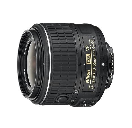 Nikon 18-55 mm / F 3,5-5,6 AF-S DX NIKKOR G VR II Objectifs 18 mm