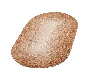 Ridder 7504190350 Teppich 70 x 120 cm, 100% Polyacryl, Hawaii karamel    Kundenbewertung und weitere Informationen