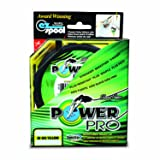 Power Pro Spectra Fiber Braided Fishing Line, Hi-Vis Yellow, 150YD/15LB