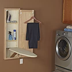 Stow Away In-Wall Ironing Board