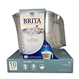 Brita Lake Model color series Blue 10 cup pitcher (Color: Blue)