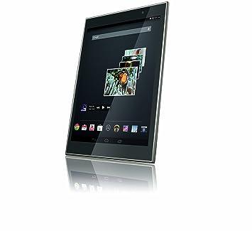 "Gigaset QV830 Tablette Tactile 8"" (20,32 cm) Cortex Core 2 Quad MTK MT8125 1,2 GHz 8 Go Android Jelly Bean 4.2.2 Wi-Fi Argent"