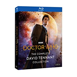 Dr.Who: Complete David Tennant Coll (BD) [Blu-ray]