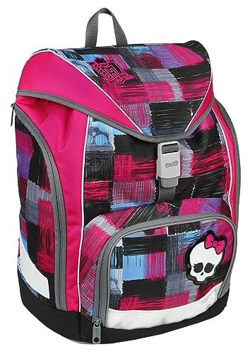 Der Schulrucksack Scooli Twixter im Set mit dem Motiv Monster High