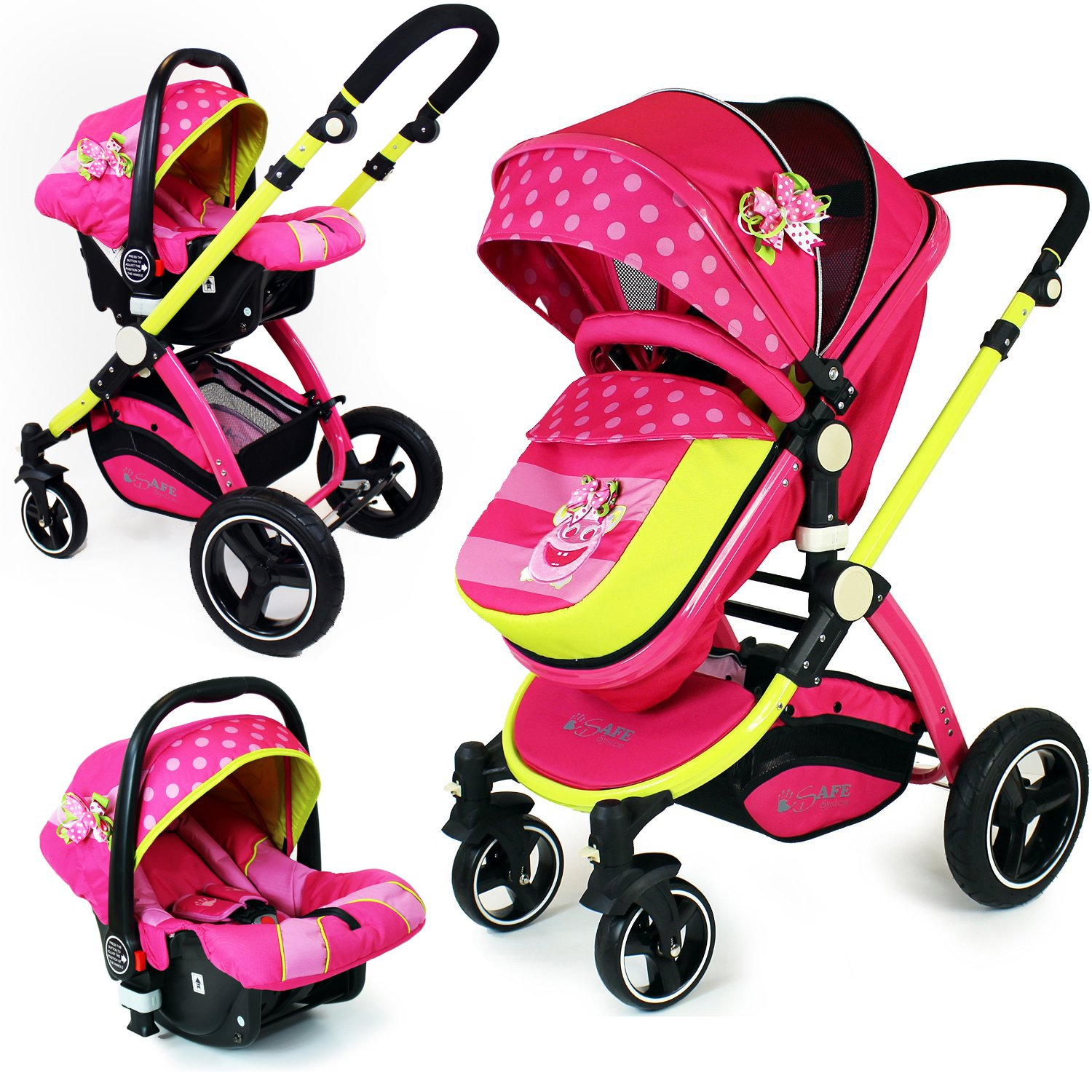 pink 3 in 1 pram 3 in 1 prams Cheap 3 in 1 Prams 81Mi6OIiH1L