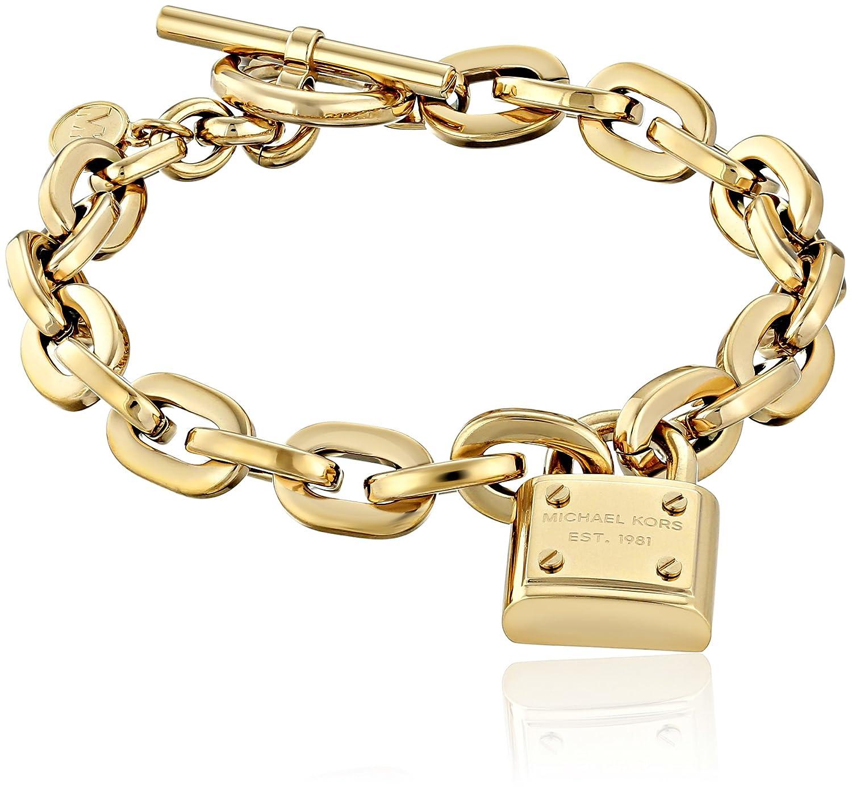 Michael Kors MKJ3311 Gold Armband, Vorhängeschloss, Knebelverschluss günstig bestellen