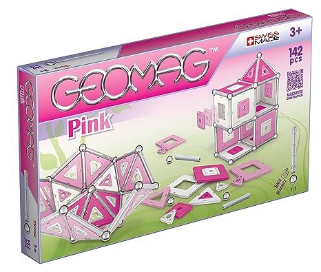 Geomag - 343 - Jeu de Construction - Panels -  142 Pièces  - Rose