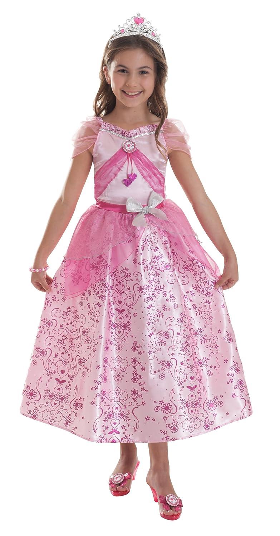 Pastellfarbenes Barbie™ Prinzessinnen-Kostüm für Mädchen – 3-5 Jahre günstig als Geschenk kaufen