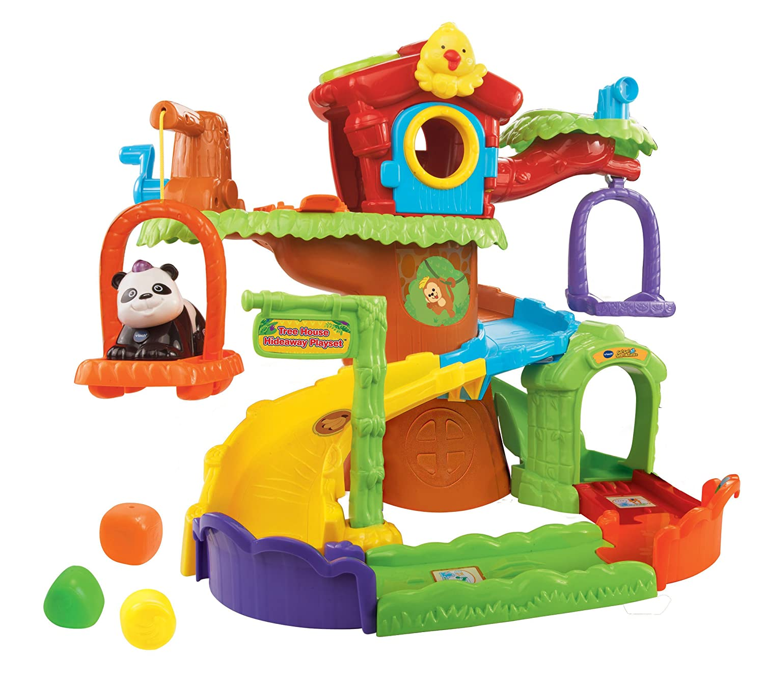 Vtech Go Go Smart Animals Treehouse Hideaway Playset