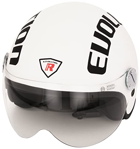 Bottari Moto 64435 Casque Evolution, Blanc, XS
