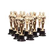 Kangaroo's Gold Award Trophies, 6-Inch Statues (6 Pack) (Color: Gold, Tamaño: 6