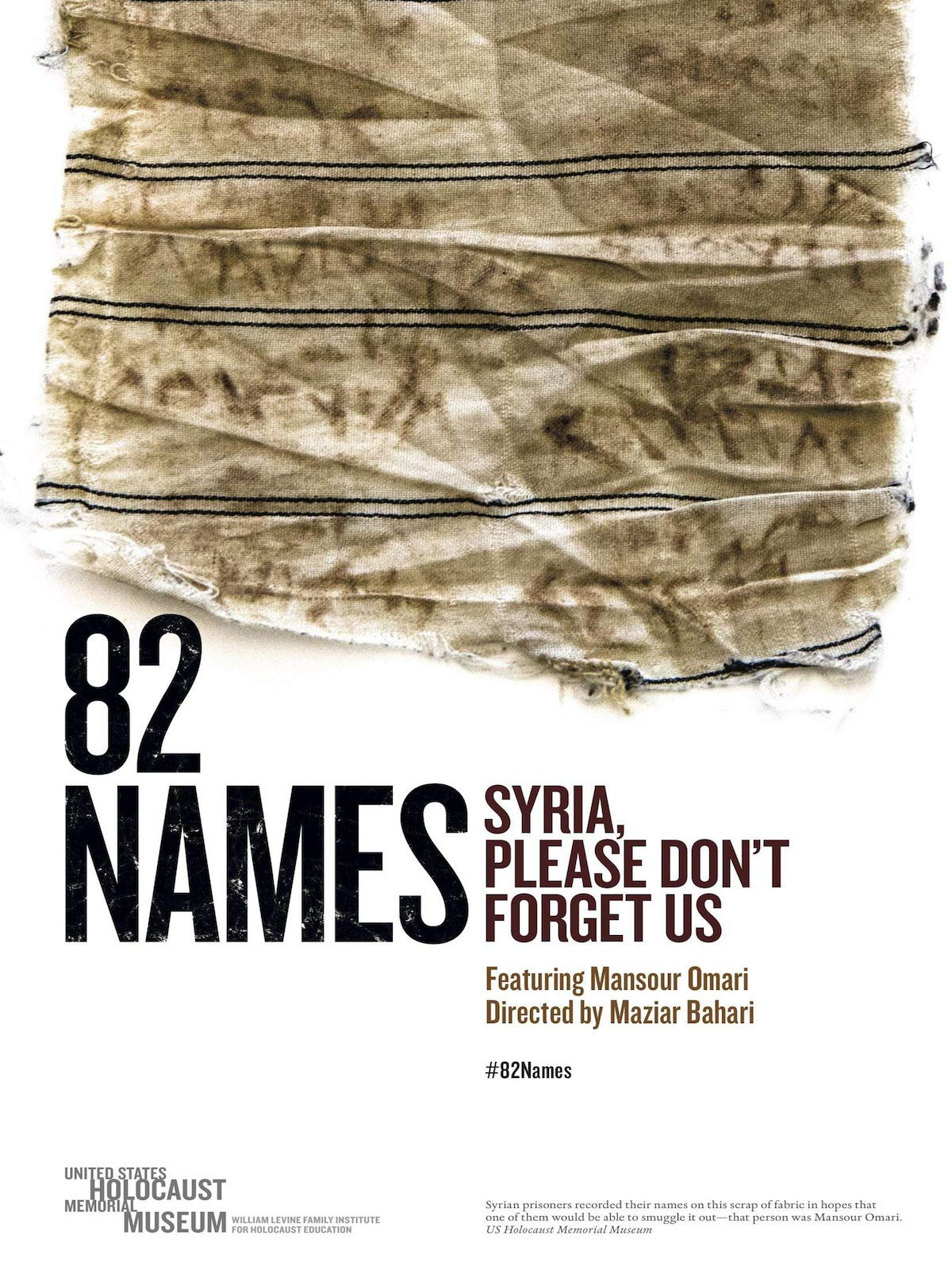 82 Names: Syria Please Don't Forget Us on Amazon Prime Instant Video UK